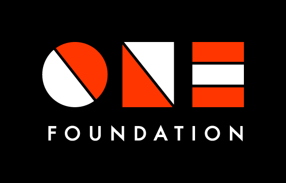 ONE Foundation - Full URL Logotype Black S